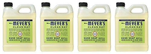 Lemon Hand Soap Refill (Earth Friendly, Mrs. Meyers Liquid Hand Soap Refill, 33 Oz, Lemon Verbena Scent by Mrs. Meyers)