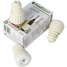 FoodSaver FSFSBS0024-050 - Tapón sellado al vacío para botellas (paquete de 3)