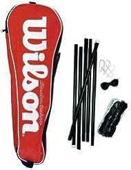 Wilson - Red para bádminton o voleibol (con postes y funda)