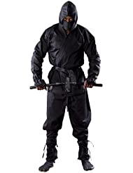 Blitz Ninja Costume–Noir, 4/170cm