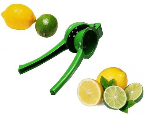 Chefs Star New Metal Lemon/Lime Squeezer/Hand Juicer con Rivestimento in Smalto Color by Chefs Starâ