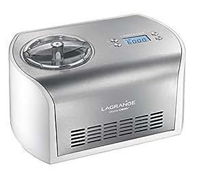 Lagrange 419010 Créative Machine à Glace Inox Plastique