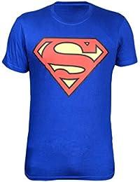 Krystle Boy's Cotton Superman Half Sleeve Round Neck