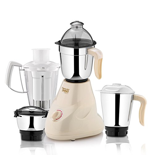 Butterfly Rhino Turbo 3 600-Watt Mixer Grinder with 3 Jars (Cherry Red)  available at amazon for Rs.2200