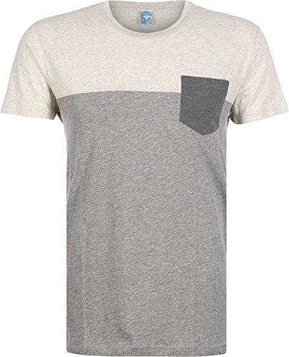 Preisvergleich Produktbild iriedaily T-Shirt Men BLOCK POCKET Grey Mel, Größe:M