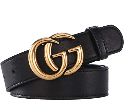 GoblinKingdom GG Hebilla Cuero Cinturones Hombre Moda Cinturón Hombre 7dba5ac5a183