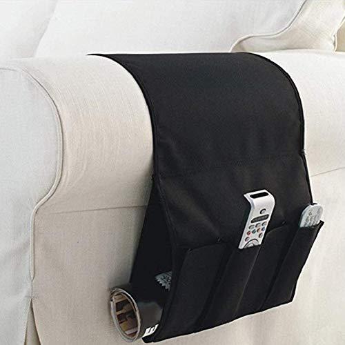 Soundwinds divano tasca divano bracciolo organizzatore organiser da comodino, adsorbimento elettrostatico book magzine mobile tv telecomando pocket storage bag