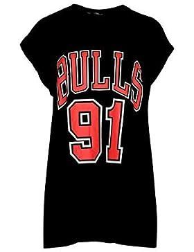 Star Fashion - Camiseta - para mujer