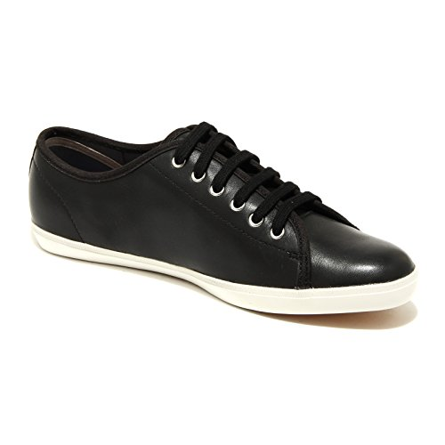 1283H sneakers donna nere FRED PERRY phoenix leather scarpe shoes women Nero
