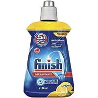 Finish-Liquide de rinçage au citron-4flacons de 250ml (1 l en tout)