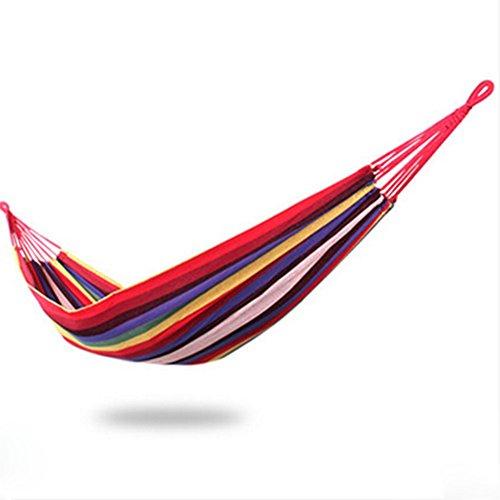 Hamac extérieur Intérieur chaise pliante de pendaison Hamac toile adulte enfant-A 200cm*150cm