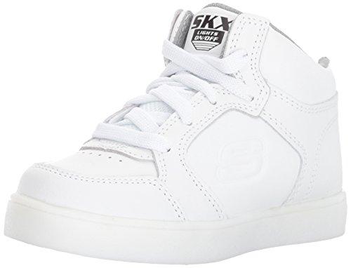 Skechers energy lights, sneaker bambino, bianco (white), 39.5 eu
