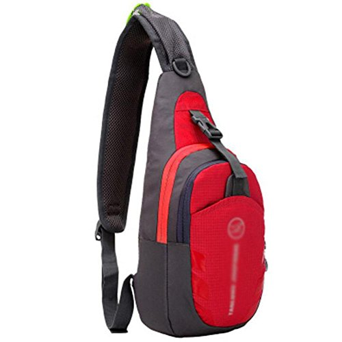 GBT Koreanische Version Von Casual Outdoor-Sport-Utility-Messenger Tasche Brust Red