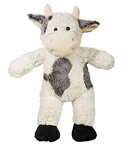 Stuffems Toy Shop Kuschelige 16 Zoll Stuffed Bessie die Moo Cow - Wir stopfen 'em .Sie lieben' em! (Gund Teddy Bär Braun)