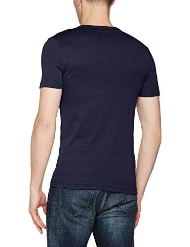 G-STAR RAW Herren T-Shirt Daplin R T S/S Blau (Sartho Blue Htr 6370)