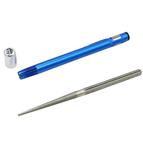Teabelle Tragbarer Diamant-Schleifstift, multifunktional, praktisch, für Jagd, Küchenmesser - Stein-küche Messerschärfer