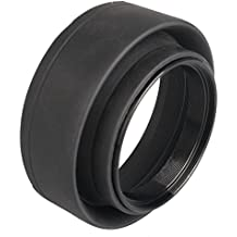52mm Parasol 3-Etapa de Lente Rubber Capucha para Nikon D3300 D3200 D5300