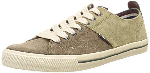 Tommy Hilfiger Varsity 1B, Sneaker, Uomo, Marrone (923), 42
