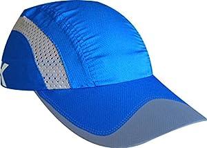 Gorra muy ligera y transpirable para ser un accesorio perfecto en nuestras salidas deportivas. Muy transpirable y de secado rapido, no solo nos quitara el sol si no que ademas nos recogera ese incomodo sudor que cae sobre los ojos.
