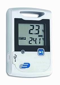 TFA Dostmann Kit G20Thermomètre Hygromètre de Enregistreur de données 311052311041Câble USB et batterie Blanc 311053