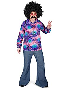 Karnival Costumes- Boho Shirt Disfraz, Multicolor, Extra Large (82187)