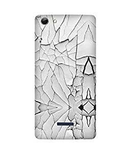 Cracked Wall Micromax Canvas Selfie 3 Q348 Case