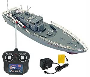 Rc Missile Warship Radio Remote Control Ht 2877 Rtr Ship