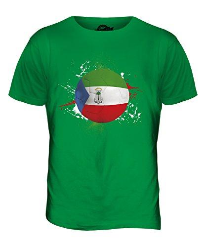 CandyMix Äquatorialguinea Fußball Herren T Shirt Grün