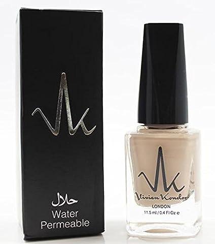 Vivien Kondor Water Permeable Halal Nail Varnish - Desert Sand