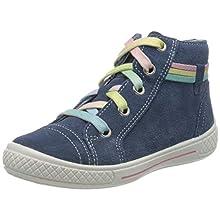 superfit Tensy 92, Sneaker a Collo Alto Bambina, Blu 80, 33 EU
