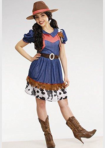 Kostüm Teen Cowgirl - Womens Petite Western Cowgirl Kostüm