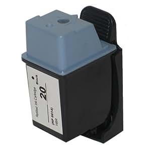 1 alternative cartouche d'encre en Noir pour HP Deskjet 610C 610CL 630C Fax 1020 à remplacer HP 20
