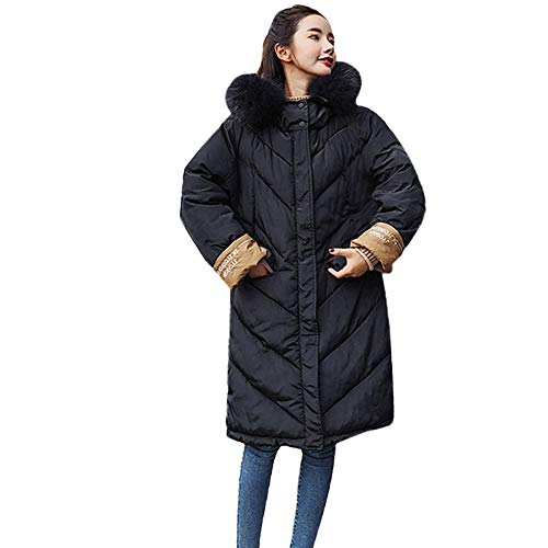 JURTEE Damen Winter Mäntel,Parka Winterjacke Warm Oberbekleidung Pelz -