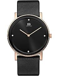 Danish Design - IQ17Q1042 - Montre Homme - Quartz - Analogique - Bracelet cuir noir