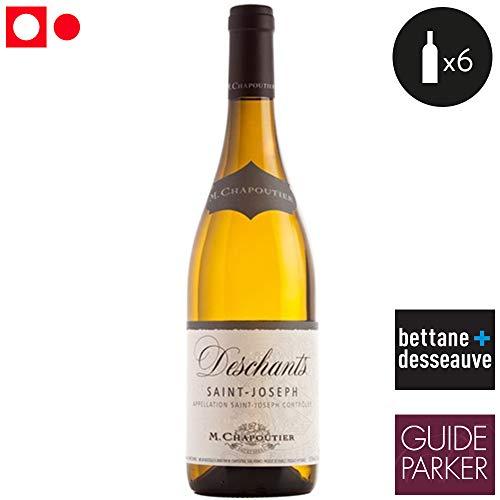 6 bouteilles • M. Chapoutier Deschants Saint-Joseph Blanc 2016 6x75cl