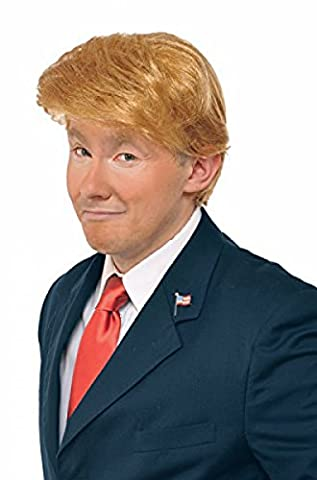 Donald trump perruque costume accessoire milliardaire cheveux adulte Halloween Wig