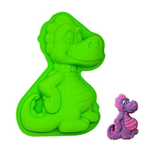 Silikon-Form für Tiere, sehr süß, Silikon, Green,blue, Dinosaur