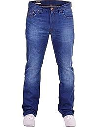 d0c4d4a9 Firetrap Mens Hardwearing Durable Quality Straight Leg Regular Fit Relaxed Denim  Jeans