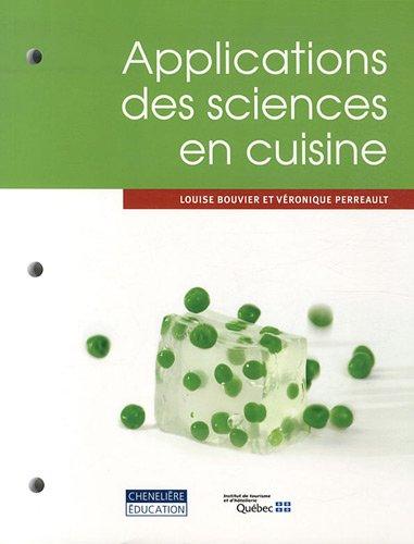 Applications des sciences en cuisine