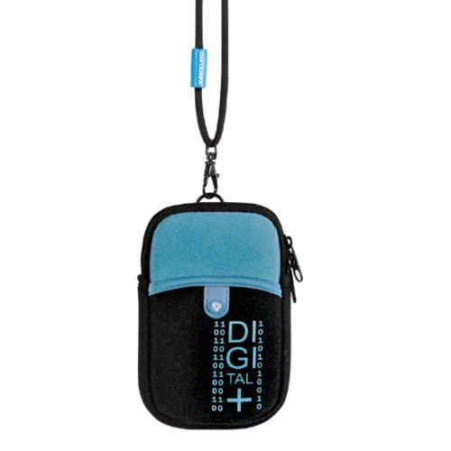VANGUARD Beneto 6C Pouch for Point and Shoot Camera - Bleu Pacific