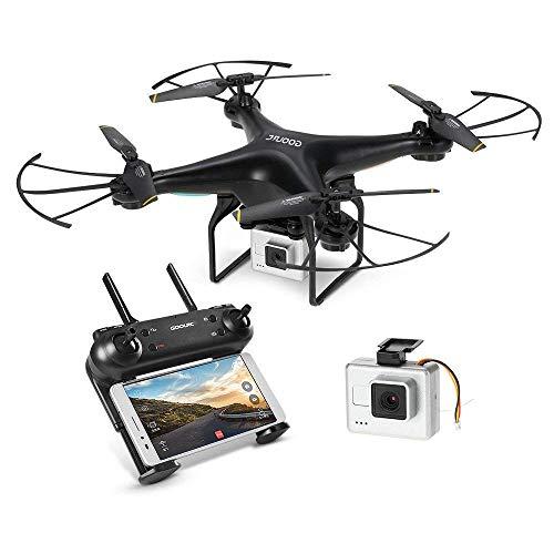 GoolRC T106 Drone con 2.0MP FPV Telecamera WiFi Altitude Hold 3D-Flip Droni modalità Senza Testa RTF RC Quadcopter 2.4G Telecomando...
