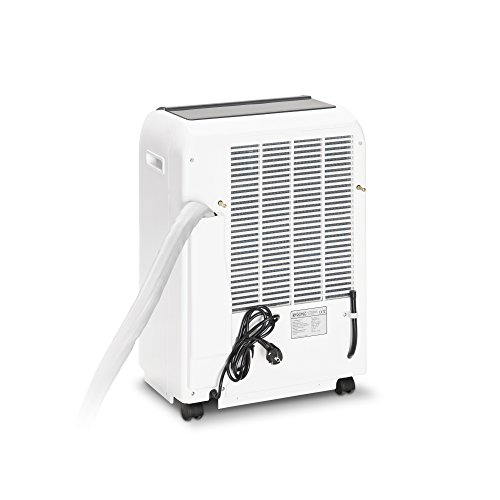 TROTEC Lokales mobiles Split Klimagerät Klimaanlage PAC 4600 mit 4,3 kW / 14.500 Btu (Inkl. Swing-Funktion, Programmierbarer 24-Stunden-Timer, Fernbedienung, 3 Ventilationsstufen, Automatikfunktion, Herausnehmbarer Luftfilter) - 6