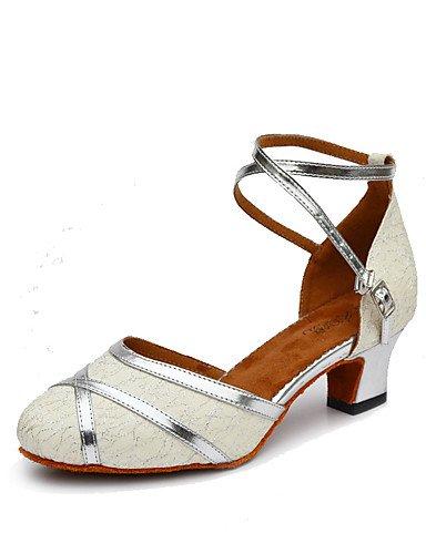 La mode moderne Non Sandales Chaussures de danse pour femmes personnalisables en cuir Cuir /latine Chaussures de Talon pratique moderne US6.5-7/EU37/UK4.5-5/CN37