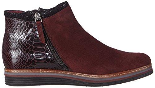 Tamaris 25055 Damen Chelsea Boots Mehrfarbig (Bordeaux 549)