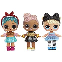 MGA Entertainment L.O.L. Surprise! Dolls Glam Glitter Series 2 for Sidekick muñeca - Muñecas, Femenino, Chica, 12 año(s), De plástico, Surprise Ball
