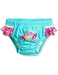 Playshoes UV-Schutz Windelhose Flamingo pañal de natación, Turquesa (Türkis 15), 62 (Talla del fabricante: 62/68) para Bebés
