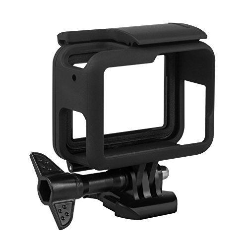 Características:  Fácil de llevar, este marco para GoPro Hero 6/5 ofrece la protección más eficaz y duradera para tu cámara;  HDMI, USB, micro SD totalmente accesibles sin necesidad de desmontarlo;  Compatible con GoPro Hero6/5;  Adecuado para dispar...