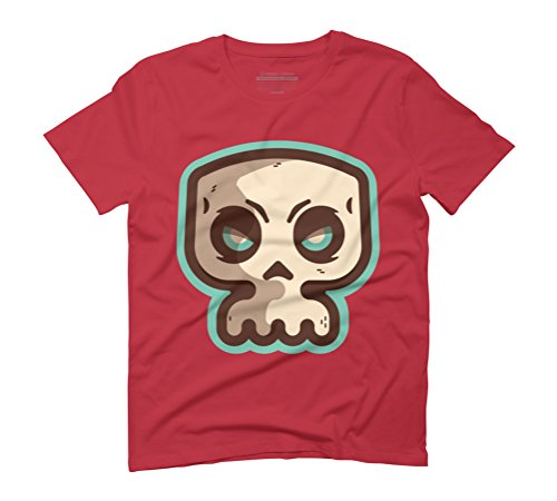 Skuuuuuuuulz Men's Graphic T-Shirt - Design By Humans Red