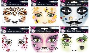 (HERMA Face Art Sticker Gesichter