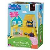 Peppa Pig Deluxe Spielhaus mit Figuren und Zubehör, ab 18 Monaten